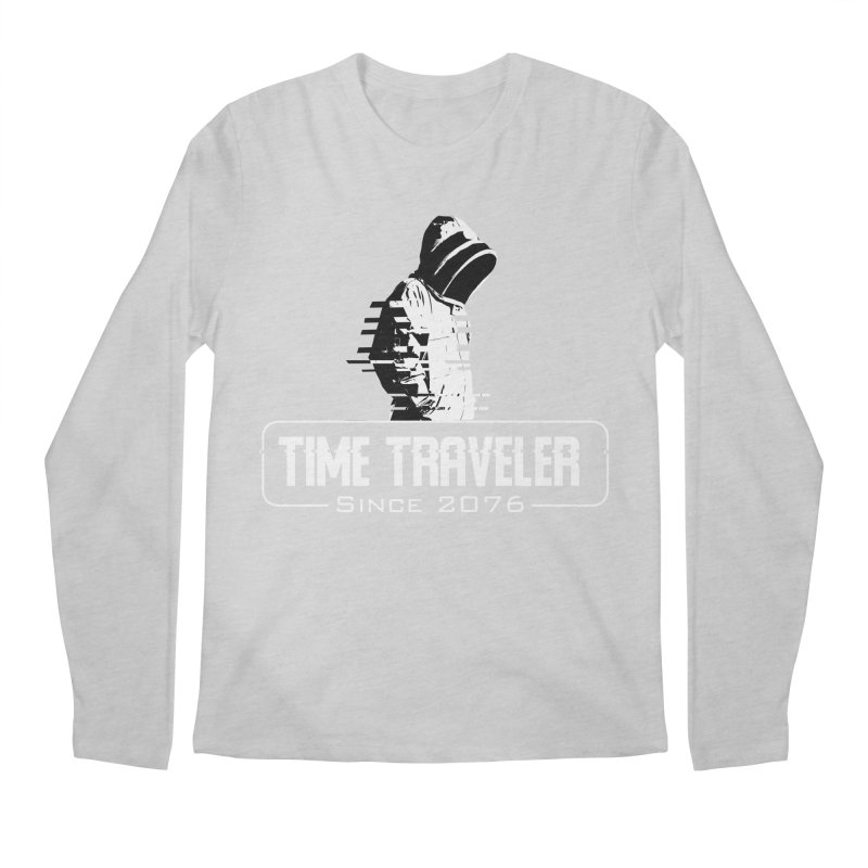 Time Traveler Men's Regular Longsleeve T-Shirt by sustici's Artist Shop