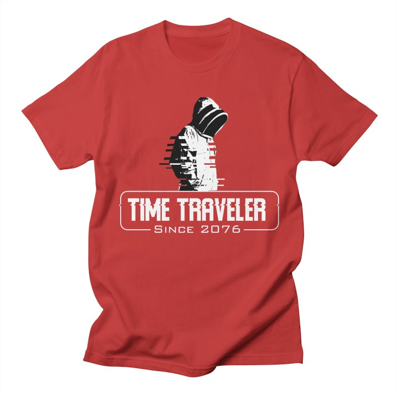 Time Traveler Men's T-Shirt by sustici's Artist Shop