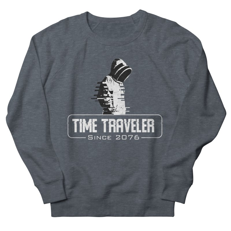 Time Traveler Men's French Terry Sweatshirt by sustici's Artist Shop