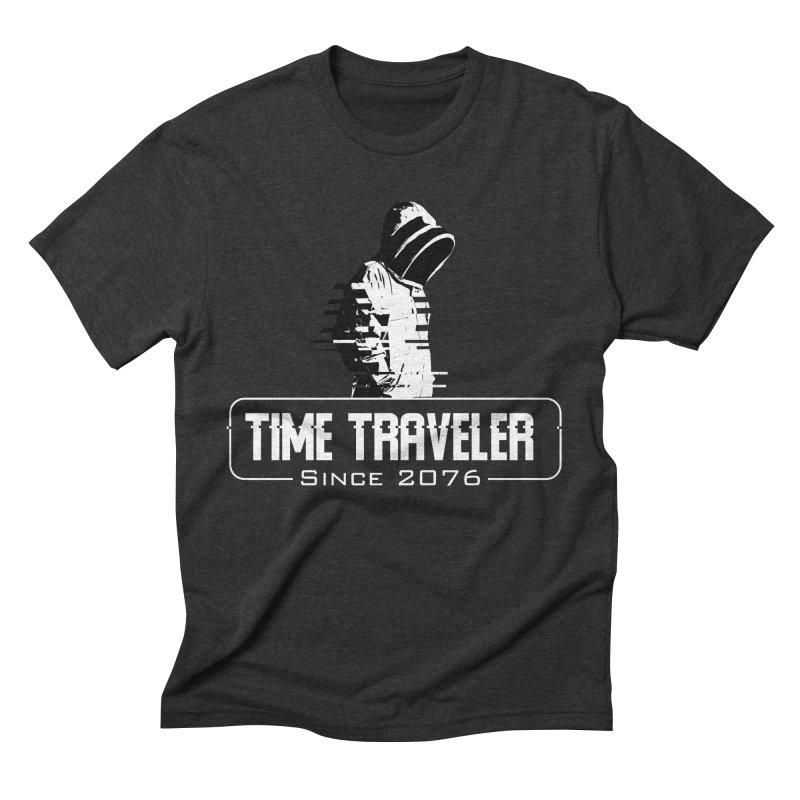 Time Traveler Men's Triblend T-Shirt by sustici's Artist Shop