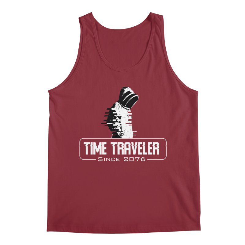 Time Traveler Men's Tank by sustici's Artist Shop
