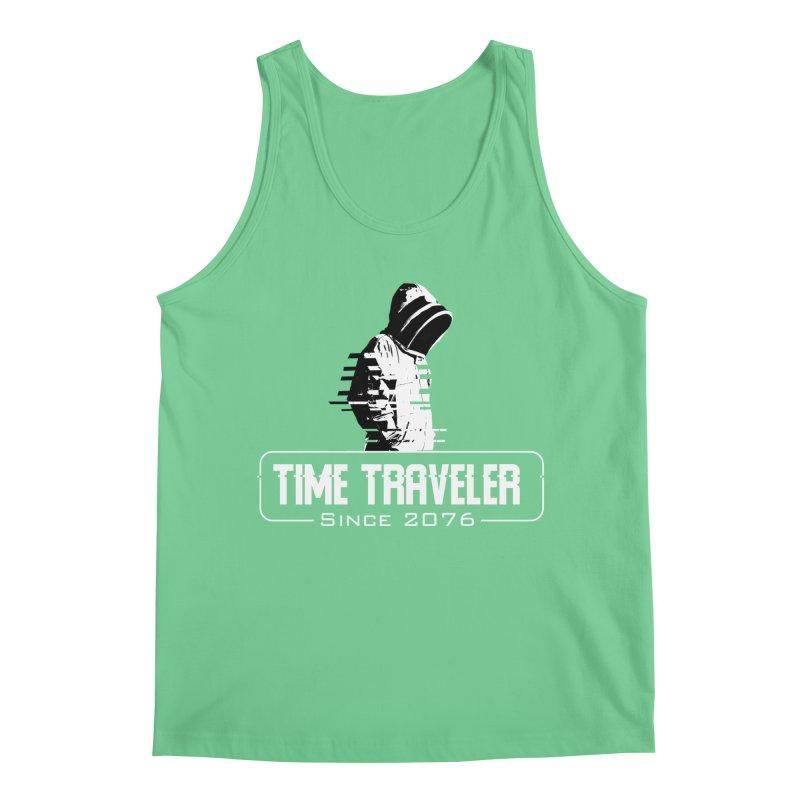 Time Traveler Men's Regular Tank by sustici's Artist Shop