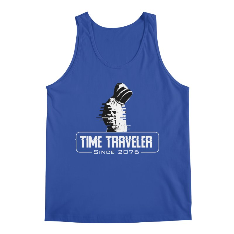 Time Traveler Men's Regular Tank by sustici's Artist Shop