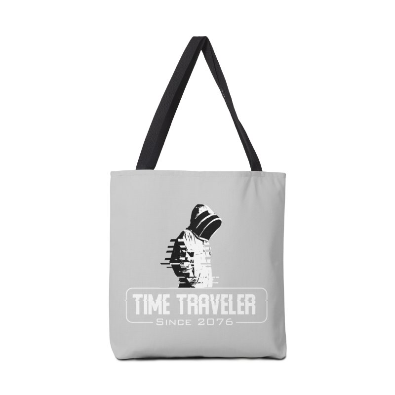 Time Traveler Accessories Tote Bag Bag by sustici's Artist Shop