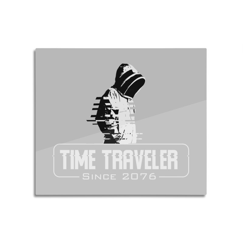 Time Traveler Home Mounted Aluminum Print by sustici's Artist Shop