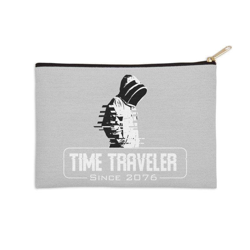 Time Traveler Accessories Zip Pouch by sustici's Artist Shop