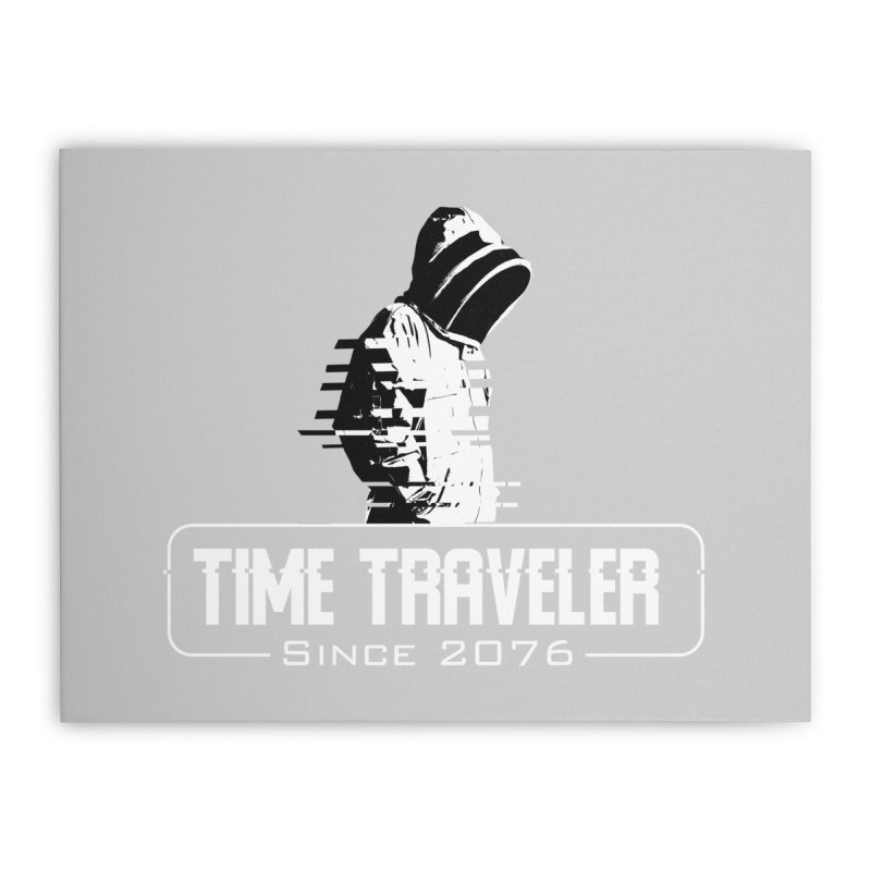 Time Traveler Home Stretched Canvas by sustici's Artist Shop