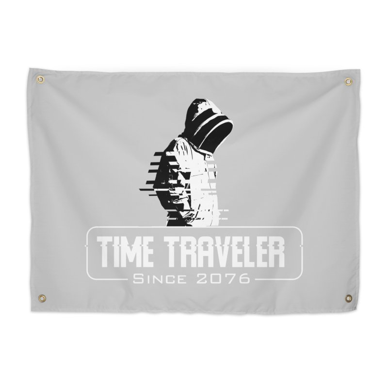 Time Traveler Home Tapestry by sustici's Artist Shop