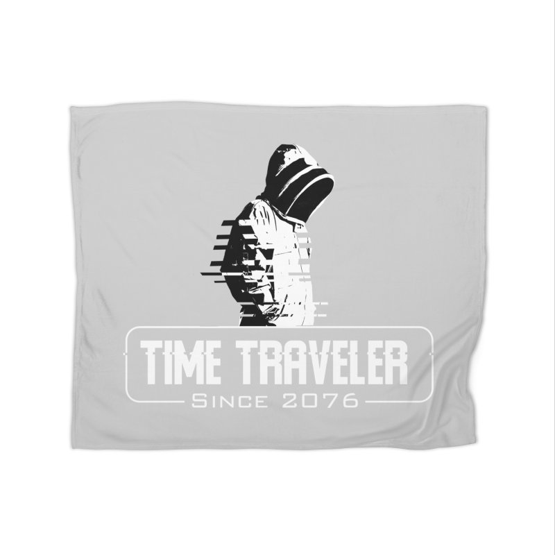 Time Traveler Home Fleece Blanket Blanket by sustici's Artist Shop