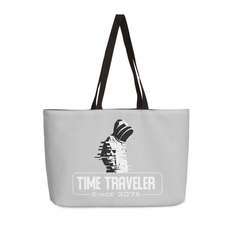 Time Traveler Accessories Weekender Bag Bag by sustici's Artist Shop
