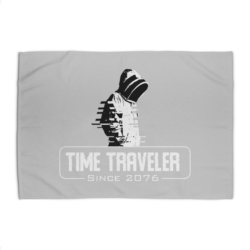 Time Traveler Home Rug by sustici's Artist Shop