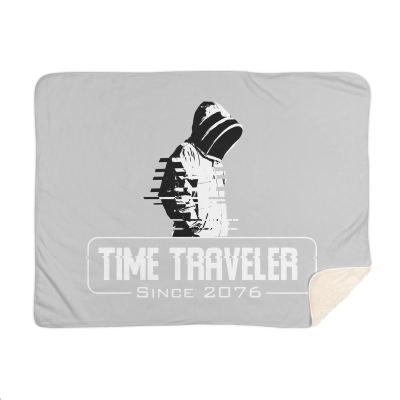 Time Traveler Home Blanket by sustici's Artist Shop