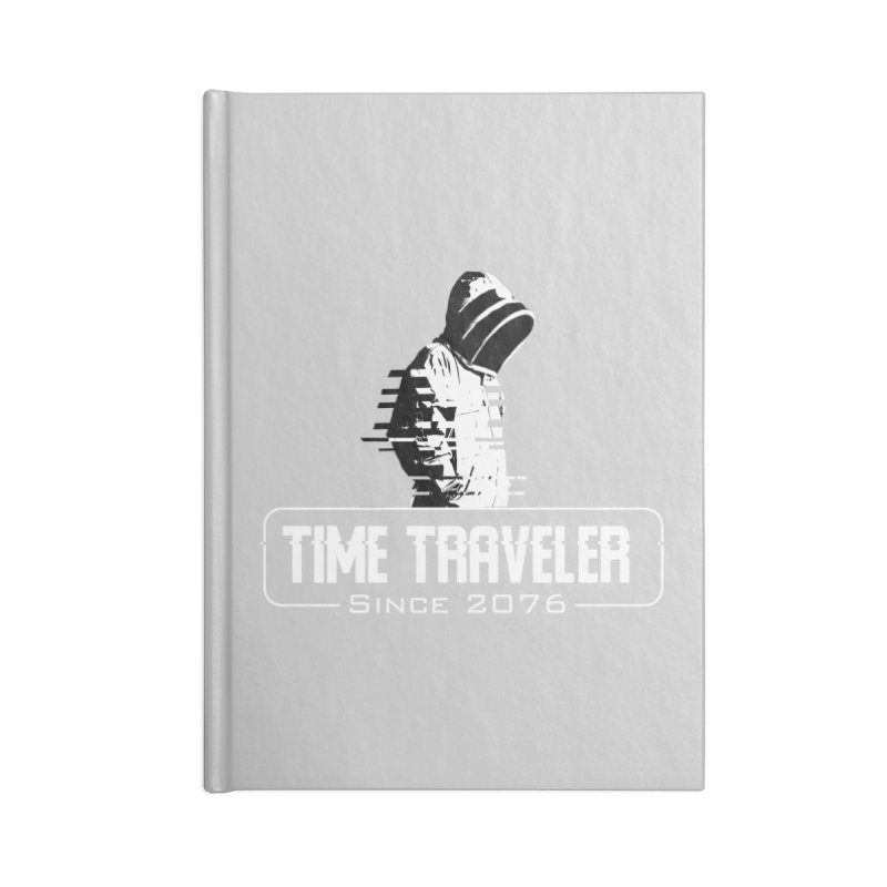 Time Traveler Accessories Lined Journal Notebook by sustici's Artist Shop