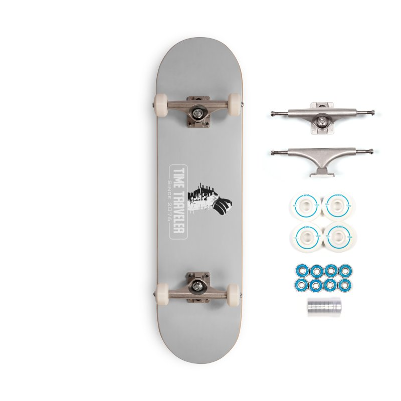 Time Traveler Accessories Skateboard by sustici's Artist Shop