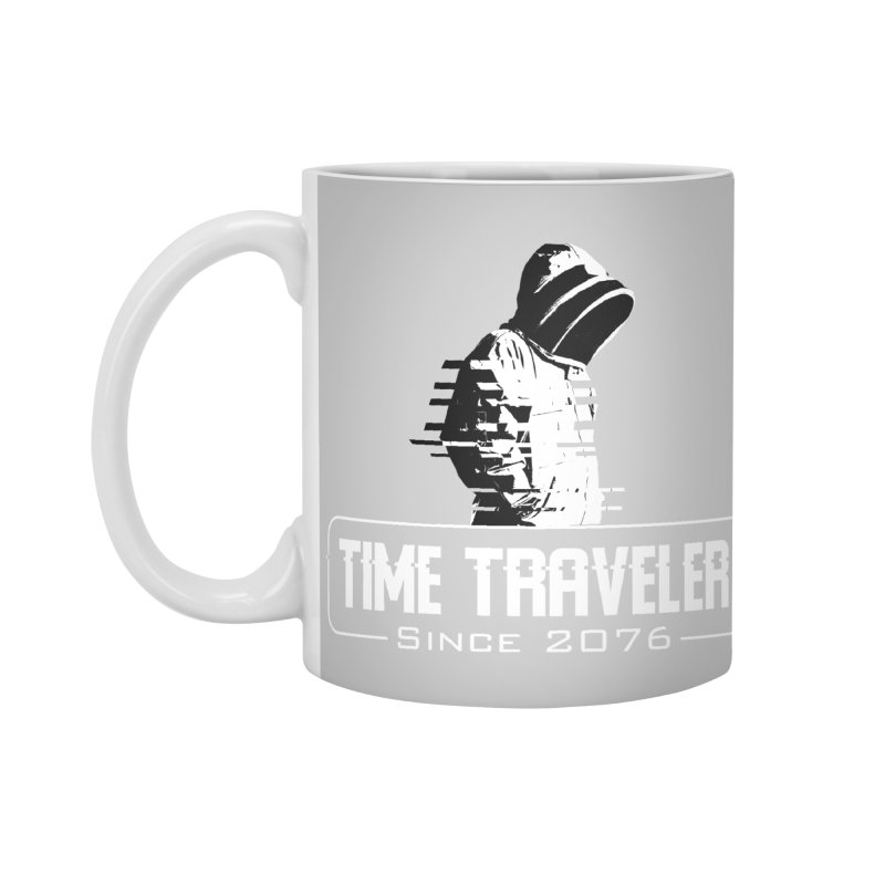 Time Traveler Accessories Standard Mug by sustici's Artist Shop