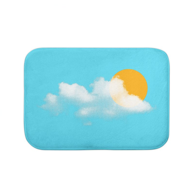 Sunny Home Bath Mat by sustici's Artist Shop