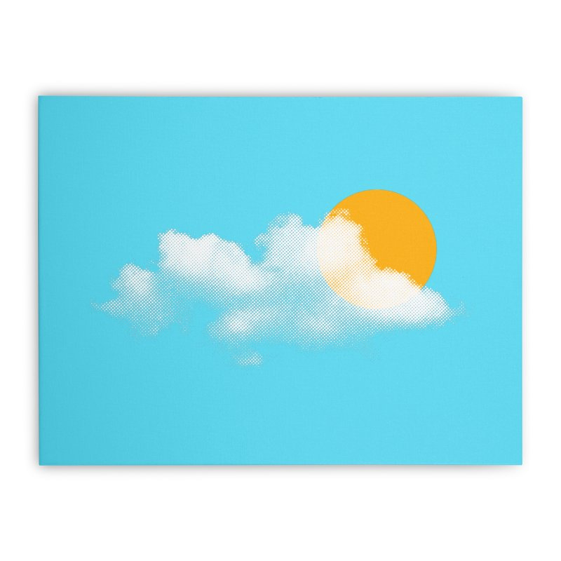 Sunny Home Stretched Canvas by sustici's Artist Shop