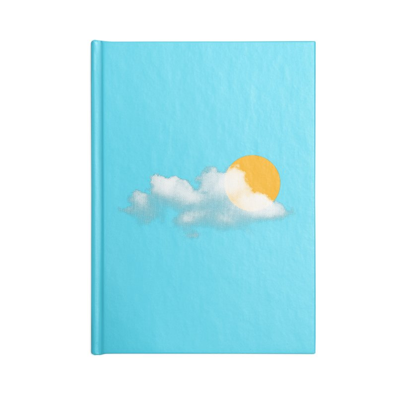 Sunny Accessories Lined Journal Notebook by sustici's Artist Shop