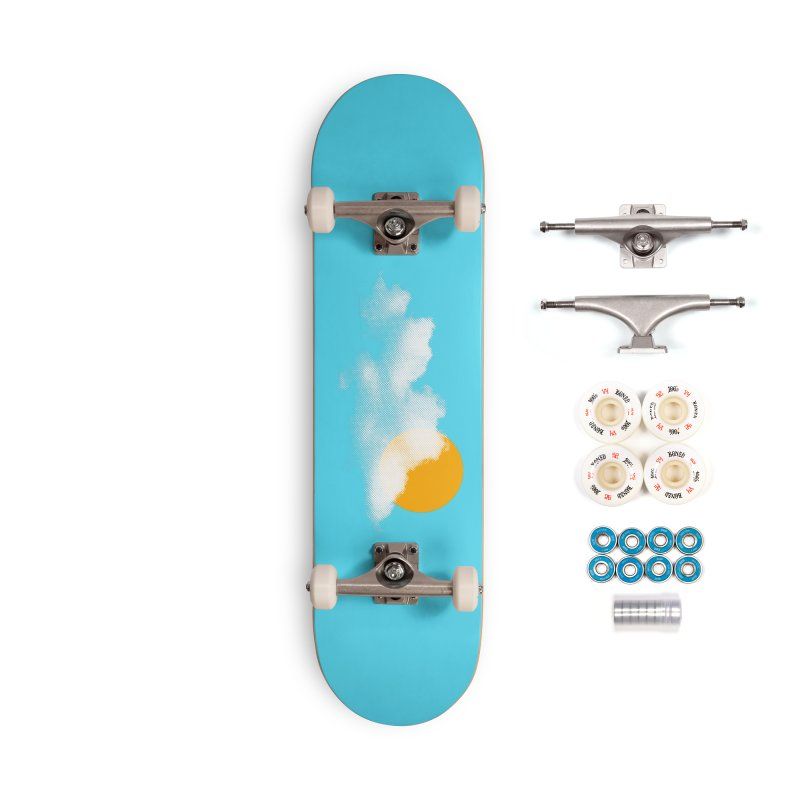 Sunny Accessories Complete - Premium Skateboard by sustici's Artist Shop