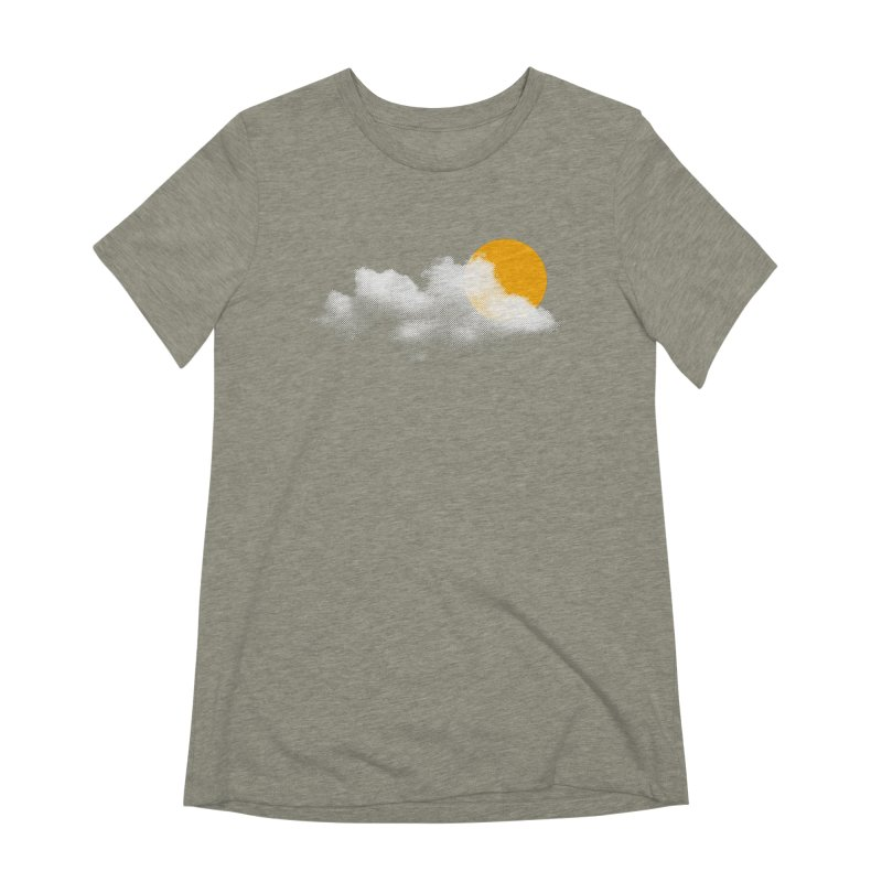 Sunny Women's Extra Soft T-Shirt by sustici's Artist Shop