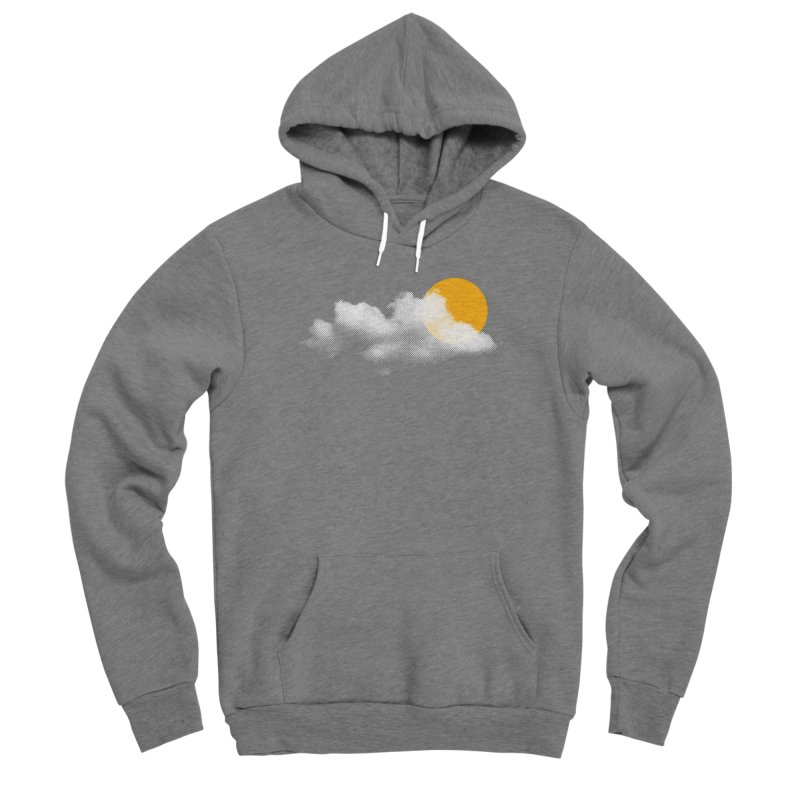 Sunny Men's Sponge Fleece Pullover Hoody by sustici's Artist Shop