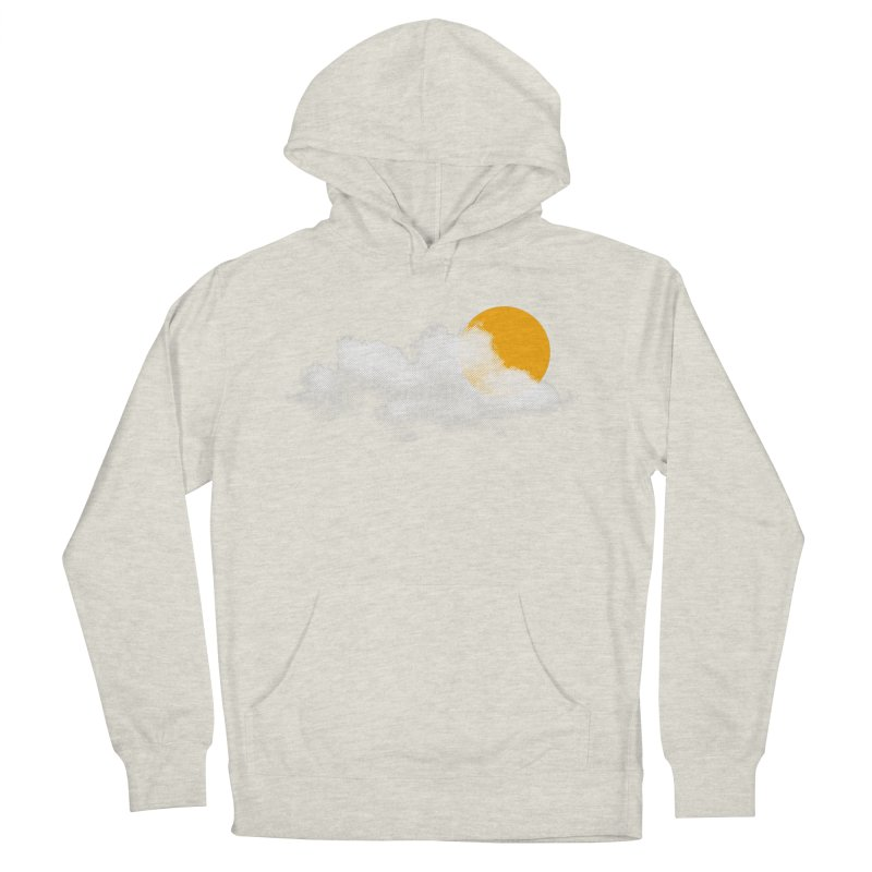 Sunny Women's French Terry Pullover Hoody by sustici's Artist Shop