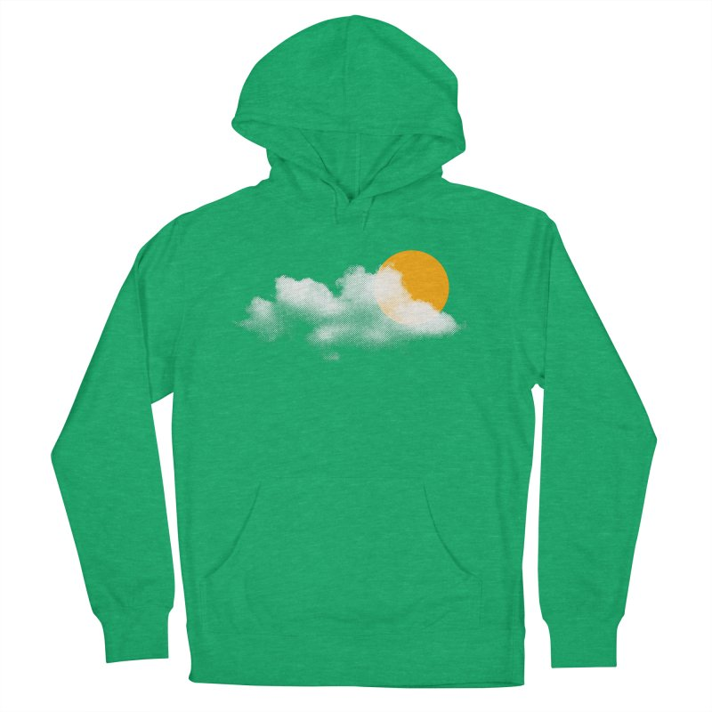 Sunny Men's French Terry Pullover Hoody by sustici's Artist Shop