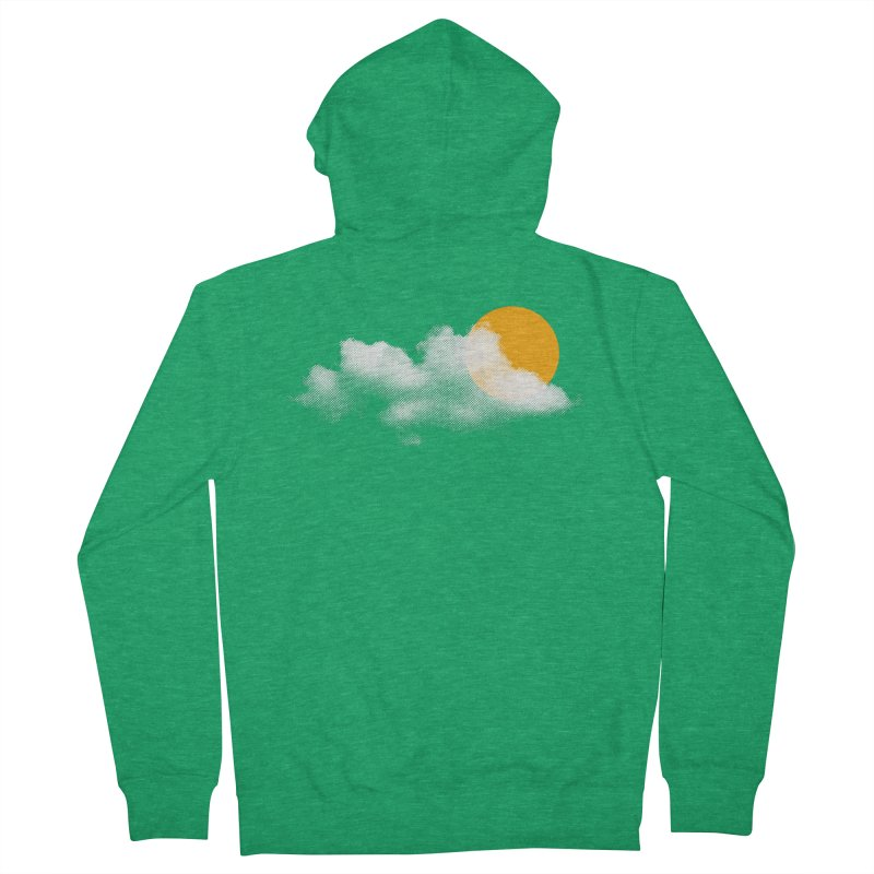 Sunny Women's Zip-Up Hoody by sustici's Artist Shop