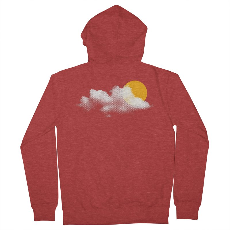 Sunny Men's French Terry Zip-Up Hoody by sustici's Artist Shop