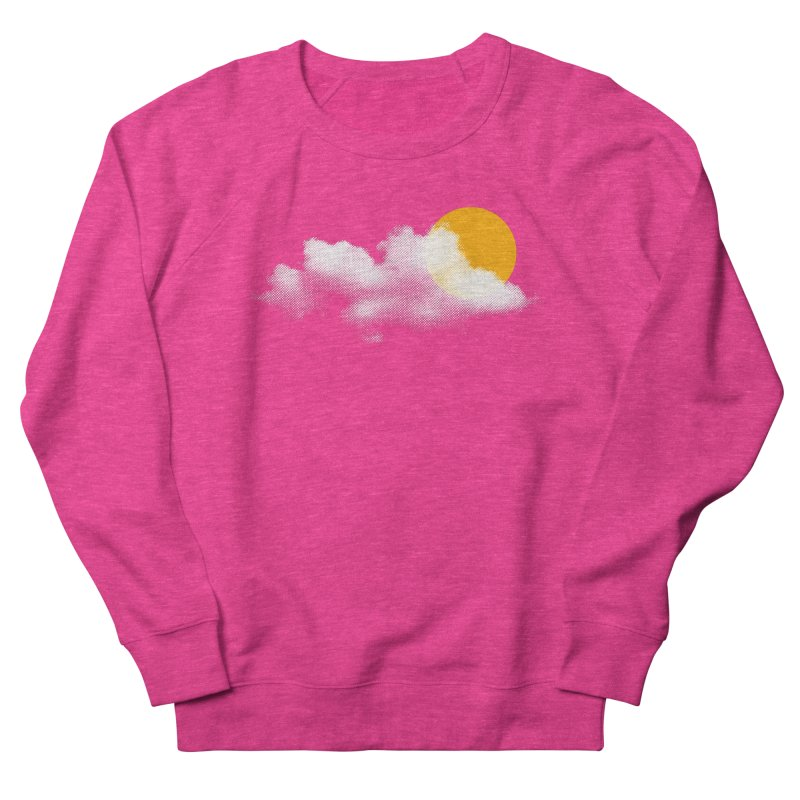 Sunny Men's French Terry Sweatshirt by sustici's Artist Shop