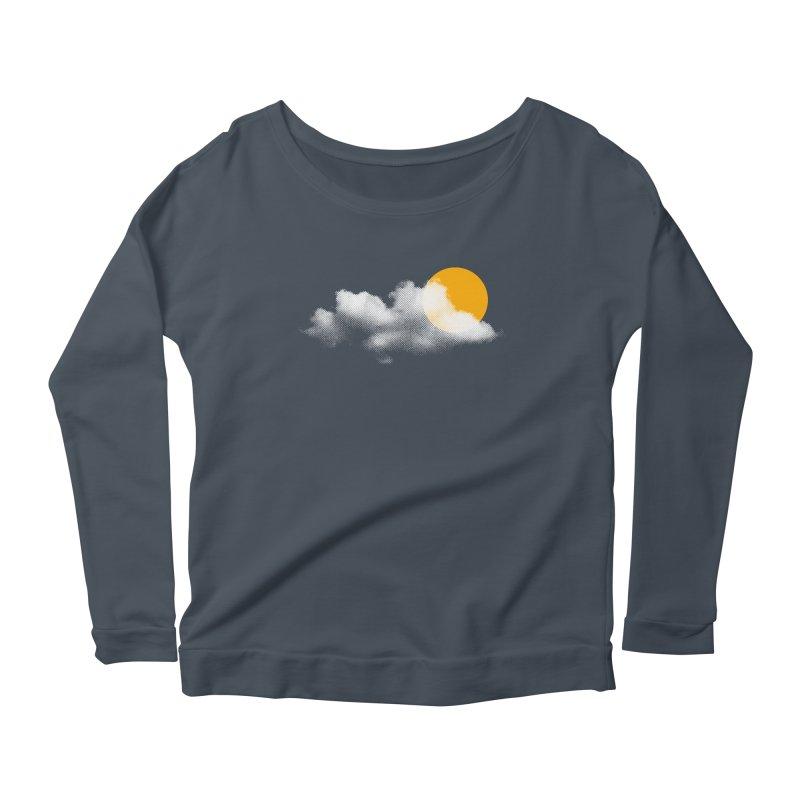 Sunny Women's Scoop Neck Longsleeve T-Shirt by sustici's Artist Shop