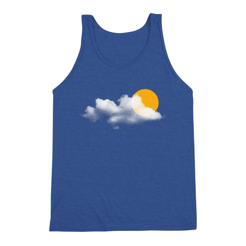 Sunny Men's Triblend Tank by sustici's Artist Shop