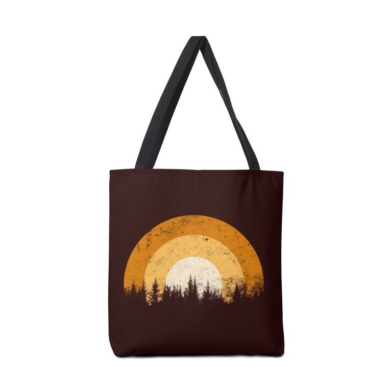 retro forest Accessories Bag by sustici's Artist Shop