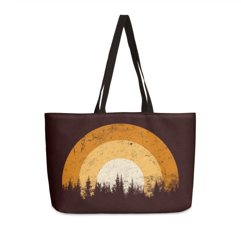 retro forest Accessories Bag by sustici's Artist Shop