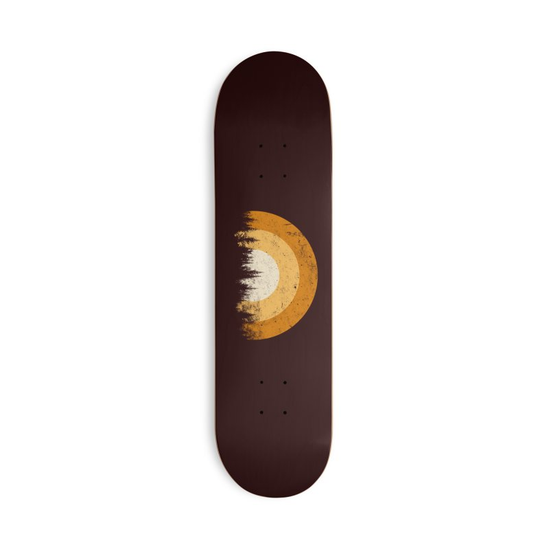 retro forest Accessories Skateboard by sustici's Artist Shop