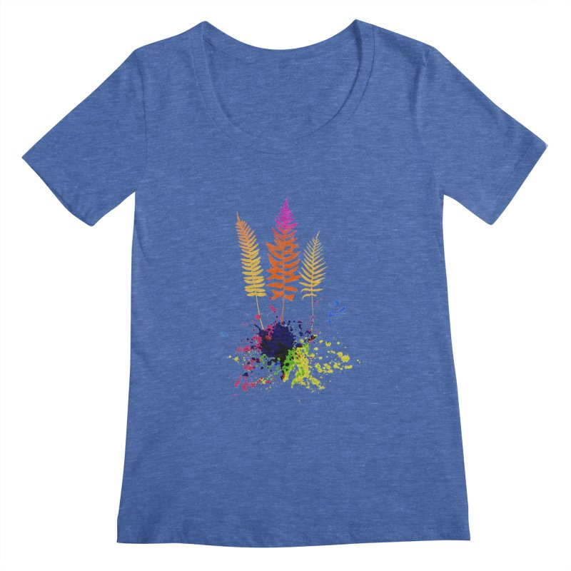 spring-o-rama Women's Scoopneck by sustici's Artist Shop