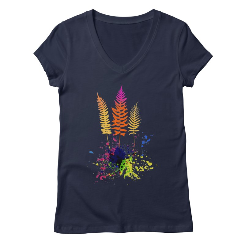 spring-o-rama Women's V-Neck by sustici's Artist Shop