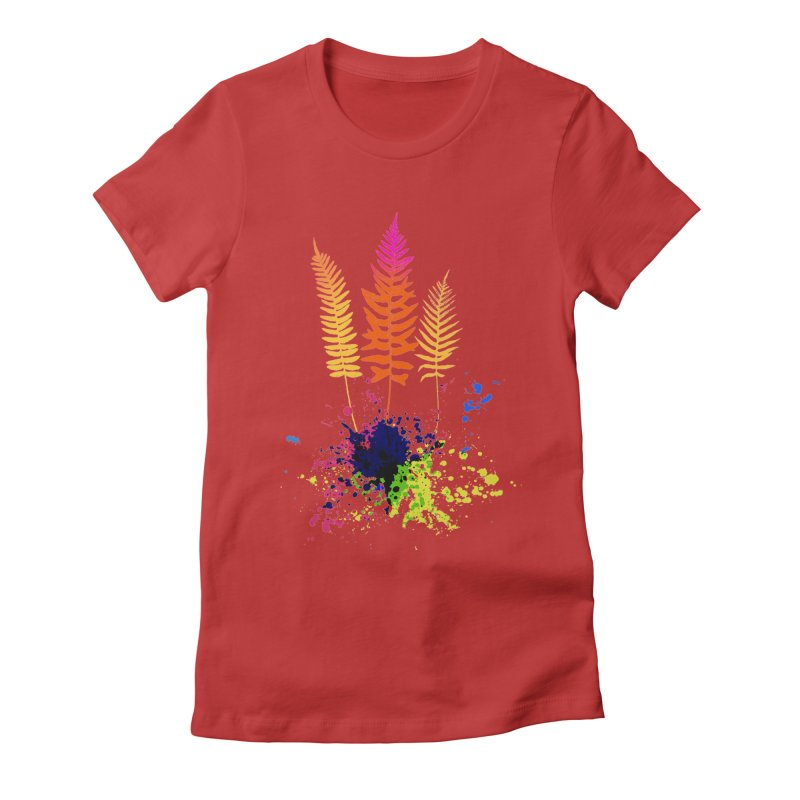 spring-o-rama Women's Fitted T-Shirt by sustici's Artist Shop