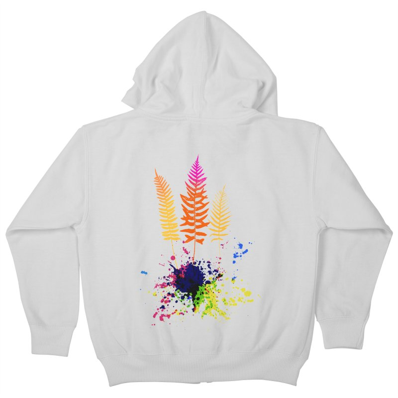 spring-o-rama Kids Zip-Up Hoody by sustici's Artist Shop