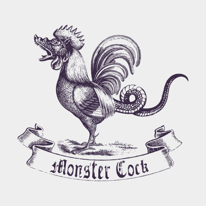 monster cock Accessories Zip Pouch by sustici's Artist Shop