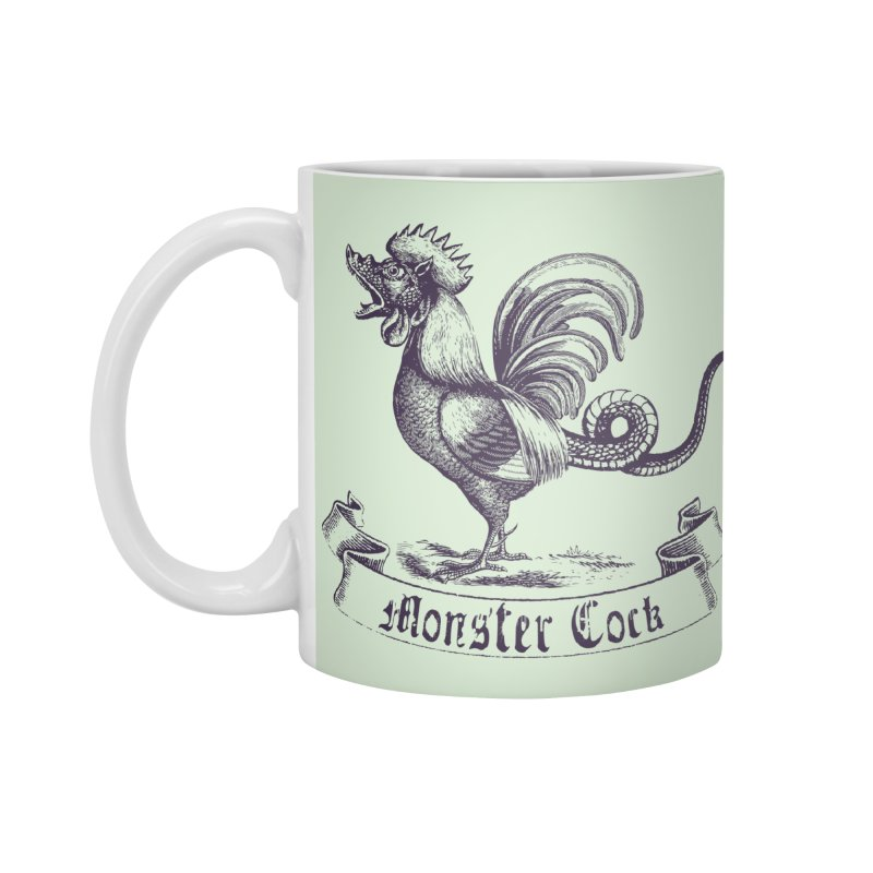monster cock Accessories Mug by sustici's Artist Shop