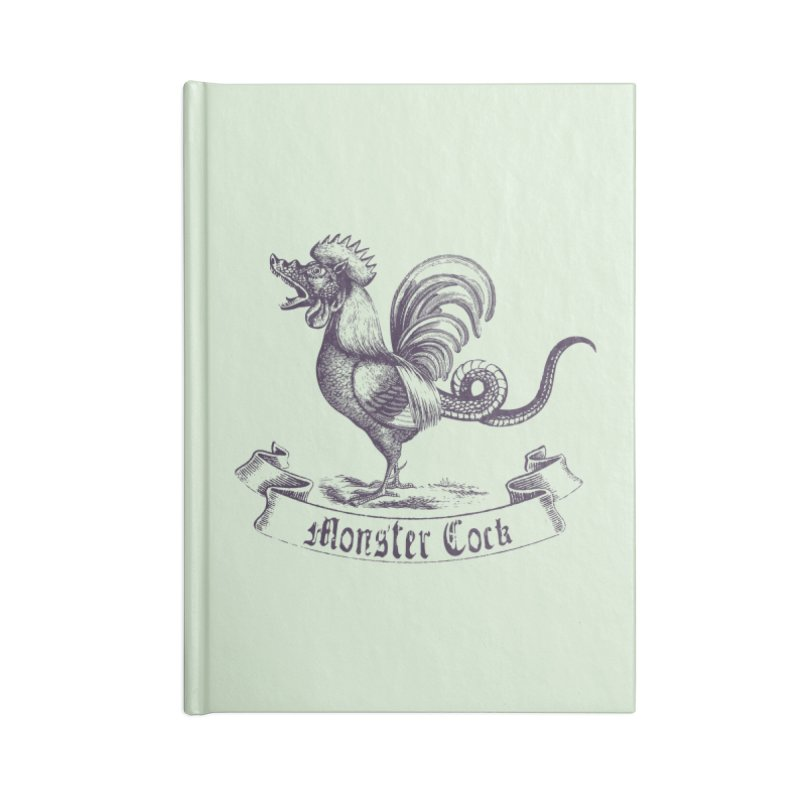 monster cock Accessories Notebook by sustici's Artist Shop