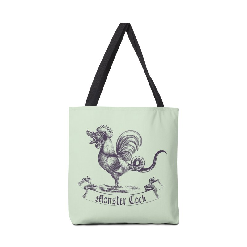 monster cock Accessories Bag by sustici's Artist Shop