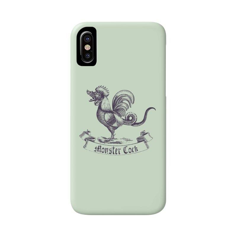 monster cock Accessories Phone Case by sustici's Artist Shop