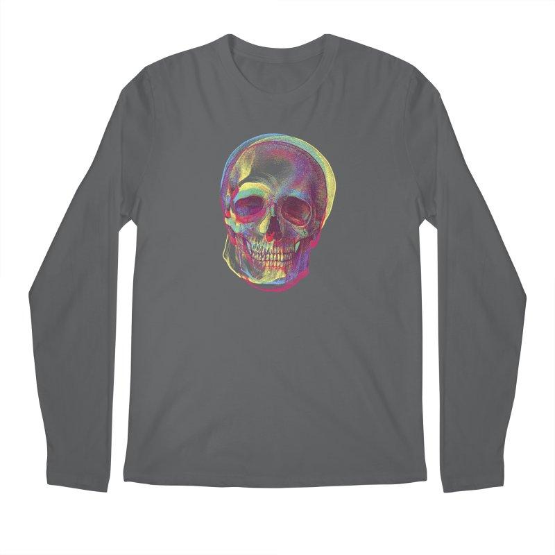 Acid Calavera Men's Longsleeve T-Shirt by sustici's Artist Shop