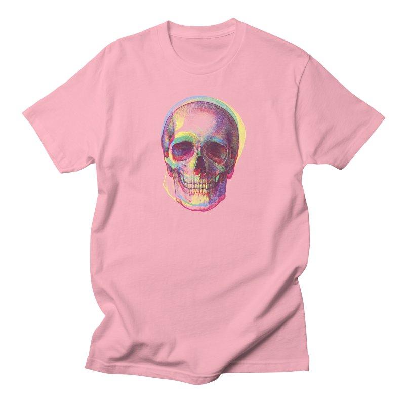 Acid Calavera Men's T-shirt by sustici's Artist Shop
