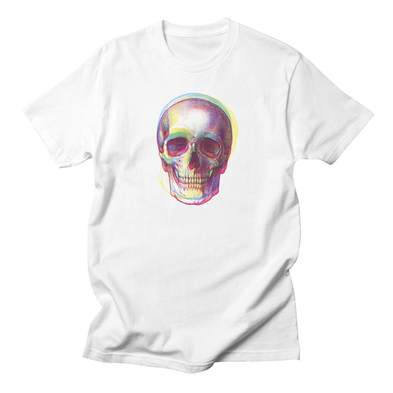 Acid Calavera Men's T-shirt by sustici's Artist Shop