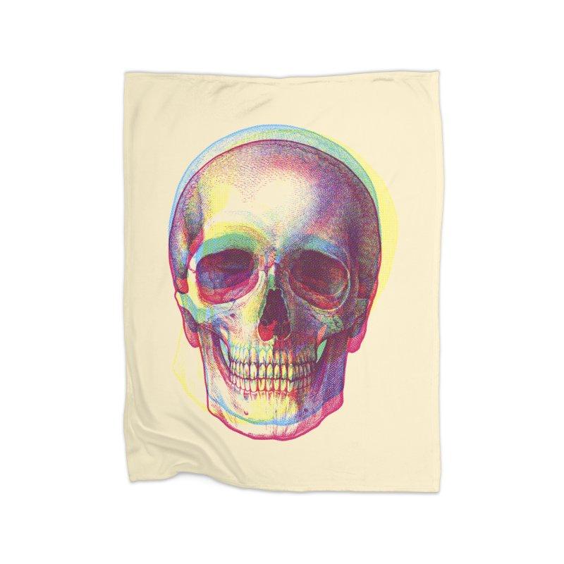 Acid Calavera Home Blanket by sustici's Artist Shop