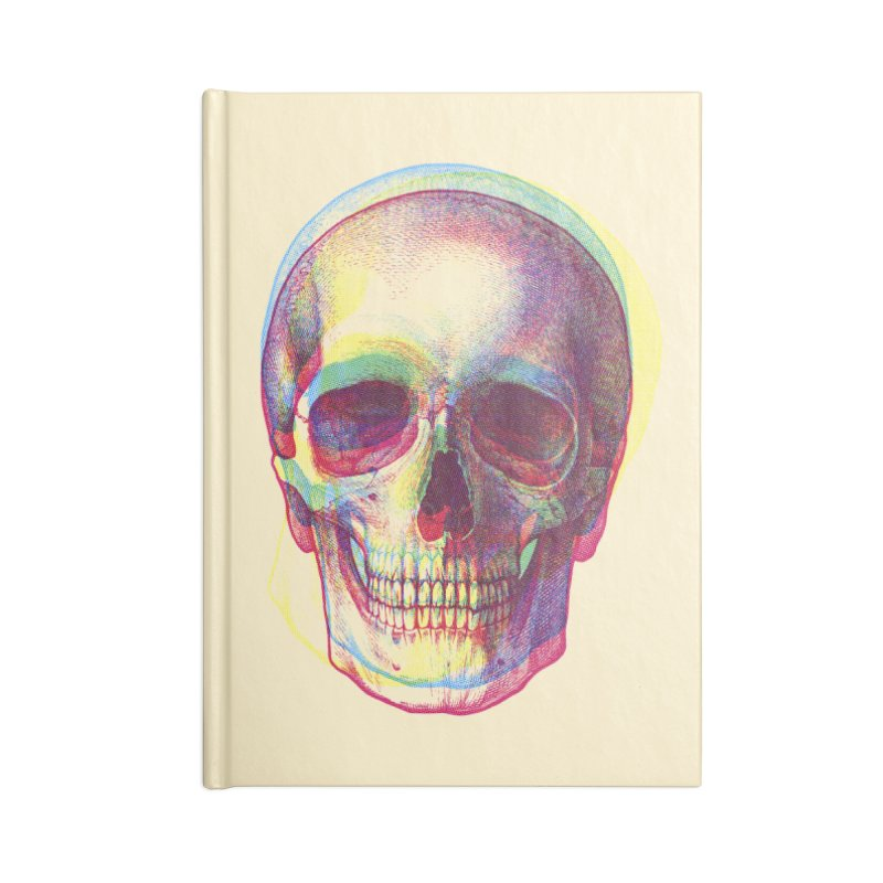 Acid Calavera Accessories Notebook by sustici's Artist Shop