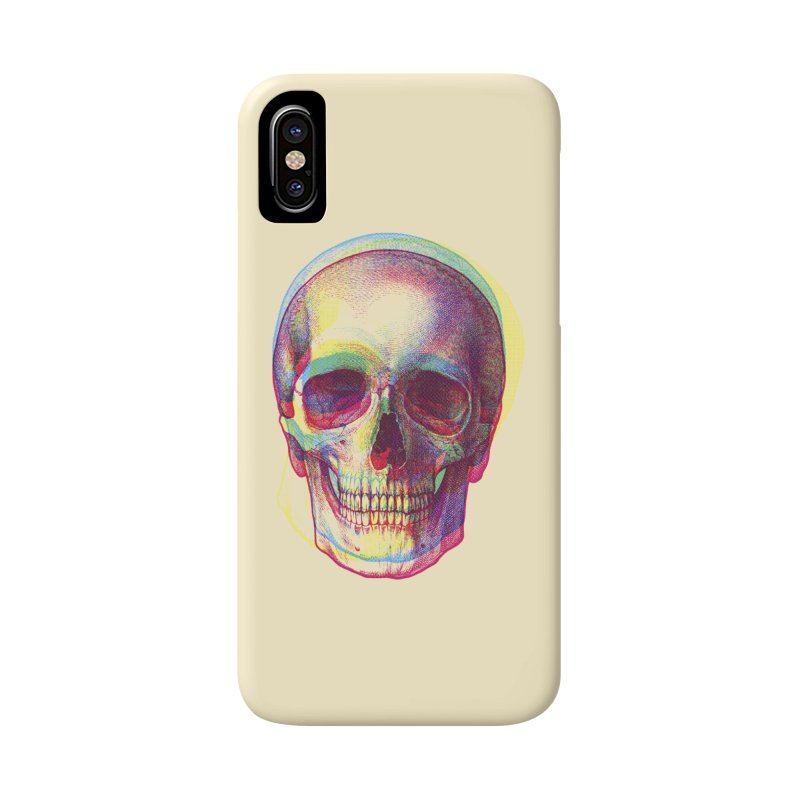 Acid Calavera Accessories Phone Case by sustici's Artist Shop